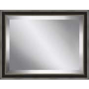 Ashton Wall D cor LLC Framed Beveled Plate Glass Mirror; Medium