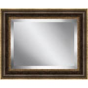 Ashton Wall D cor LLC Burnished Framed Beveled Plate Glass Mirror