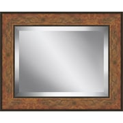 Ashton Wall D cor LLC Rectangle Aged Framed Beveled Plate Glass Mirror