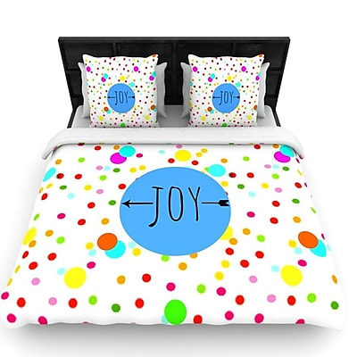 KESS InHouse Oh Joy by Sreetama Ray Woven Duvet Cover; Queen WYF078277529647