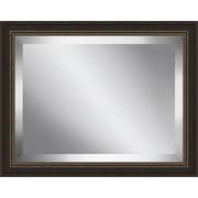 Ashton Wall D cor LLC Beveled Framed Plate Glass Mirror