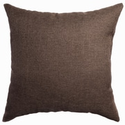 Softline Home Fashions Mural Throw Pillow; Chocolate