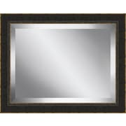 Ashton Wall D cor LLC Coffee Bean Framed Beveled Plate Glass Mirror