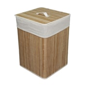 ORE Furniture Square Folding Laundry Hamper