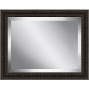Ashton Wall D cor LLC Undertone Framed Beveled Plate Glass Mirror; Medium