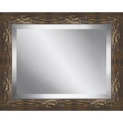 Ashton Wall D cor LLC Rectangle Framed Beveled Plate Glass Mirror; Medium