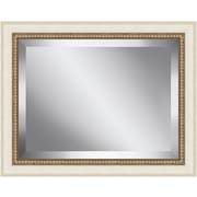 Ashton Wall D cor LLC Antique Bead Framed Beveled Plate Glass Mirror