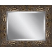 Ashton Wall D cor LLC Rectangle Framed Beveled Plate Glass Mirror; 27'' H x 23'' W x 1.5'' D