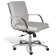Jesper Office Berg Low Back Conference Chair; White