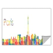 ArtWall ArtApeelz 'Paris' by Revolver Ocelot Graphic Art Removable Wall Decal