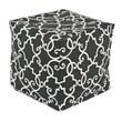Chooty & Co Woburn Slate KE Zippered Beads Footstool