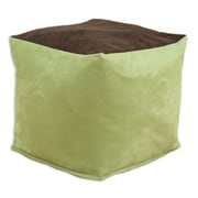 Brite Ideas Living Passion Suede KE Zippered Beads Footstool