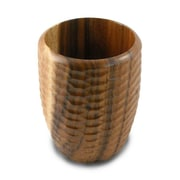 Enrico Casual Dining Utensil Vase in Natural Lacquer