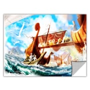 ArtWall ArtApeelz 'Old Times 4' by Luis Peres Graphic Art Removable Wall Decal