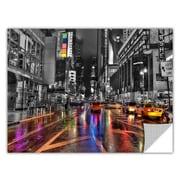 ArtWall ArtApeelz 'NYC' Revolver Ocelot Graphic Art Wall Decal; 12'' H x 18'' W x 0.1'' D