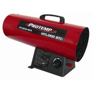 ProTemp 125,000 BTU Portable Propane Forced Air Utility Heater with Variable Control