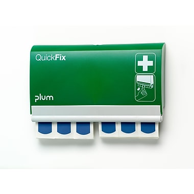 Plum Blue Detectable Adhesive Bandage Dispenser