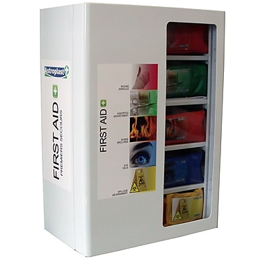 Astroplast Canada Wide Provincial Level 1 Incident Module First Aid station, Regulatory, Wall-Mounted