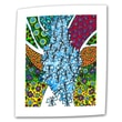 Art Wall ''Blue Cocoon'' by Debra Purcell Painting Print on Canvas; 24'' H x 32'' W