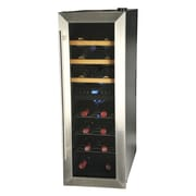 Kalorik 21 Bottle Dual Zone Freestanding Wine Refrigerator