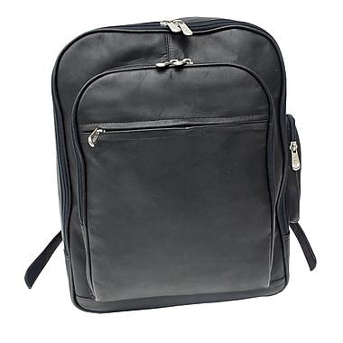 Piel Entrepeneur Front-Pocket Computer Backpack; Black
