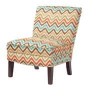 Madison Park Madison Park Hayden Curved Back Slipper Chair