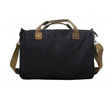 Vagabond Traveler Messenger Bag; Black