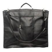 Piel Traveler 40'' Elite Garment Bag; Black