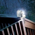 Maxsa Motion-Activated LED Outdoor Light; White