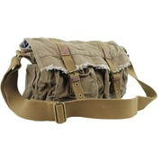 Vagabond Traveler Messenger Bag; Green