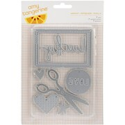 "American Crafts™ Amy Tan Imprint Stitched Die, 6"" x 4 1/4"""