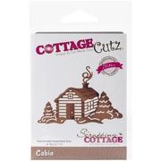 CottageCutz® In The Woods Cabin Elites Craft Die