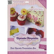 Crafter's Companion Twin Cupcake Presentation Box Template