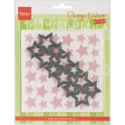 Ecstasy Crafts Marianne Design Embossing Folder and Stars Die
