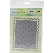 "Penny Black® Frame And Pattern Creative Die, 4.3"" x 5.5"""