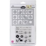 Sizzix® Windows Framelits Die Set With Stamps