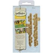 Spellbinders® Sentiments 5 Shapeabilities D-Lite Die, Green