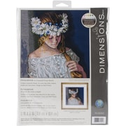 "Dimensions Innocence Counted Cross Stitch Kit, 12"" x 12"""