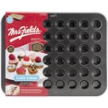 Love Cooking Company Mrs. Fields™ 24 Cavity Cutie Cakes Pan, Black, 15.9in. x 12.6in. x 0.62in.