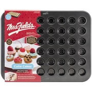 "Love Cooking Company Mrs. Fields™ 24 Cavity Cutie Cakes Pan, Black, 15.9"" x 12.6"" x 0.62"""