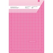 "American Crafts™ Double-Sided Self-Healing Cutting Mat, Pink, 12"" x 18"""