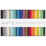 "FreeSpirit Fabrics Modern Solids-Denyse Schmidt Fat Quarter Fabric Bundle, 18"" x 21"""