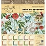 Graphic 45 Time To Flourish Calendar Paper Pad,