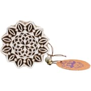 "Blockwallah Mandala Block Stamp, 2 1/2"" x 2 1/2"""