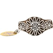 "Blockwallah Petals Block Stamp, 1 7/8"" x 3 3/8"""