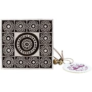 "Blockwallah Maharaja Block Stamp, 3 1/8"" x 3 1/8"""