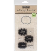 Hero Arts® Joy Tags Stamps & Cuts, Clear
