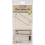 Hero Arts® Cake Day Stamps & Cuts, Clear