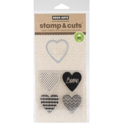 Hero Arts® Hearts Stamps & Cuts, Clear