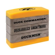 "Kellycraft Duck Commander® Stakz Commander Set 2 Stamp Set, Tan/yellow, 2"" x 2.75"" x 0.9"""